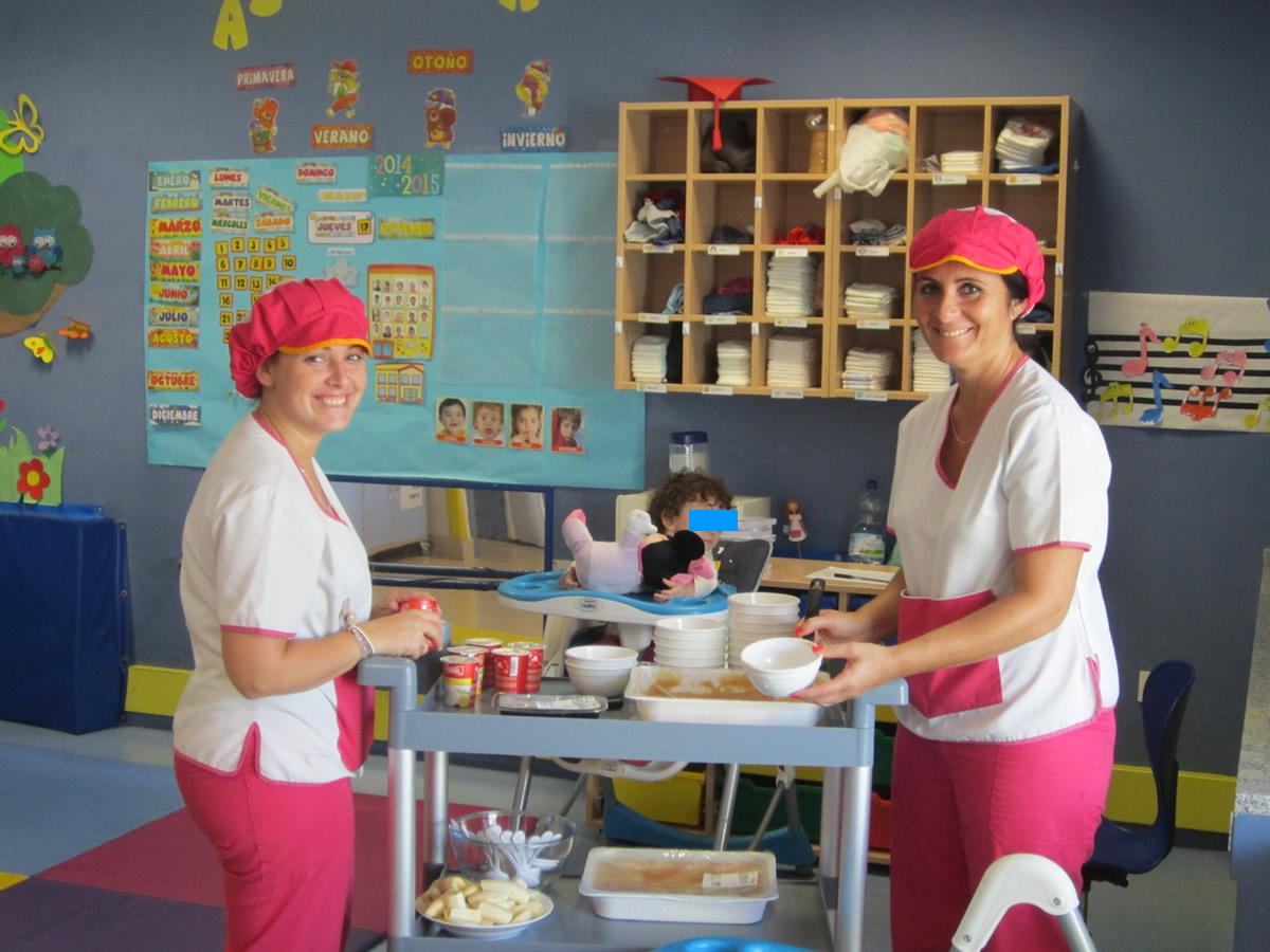 Nutrici n escuela infantil municipal armilla for Proyecto de comedor infantil